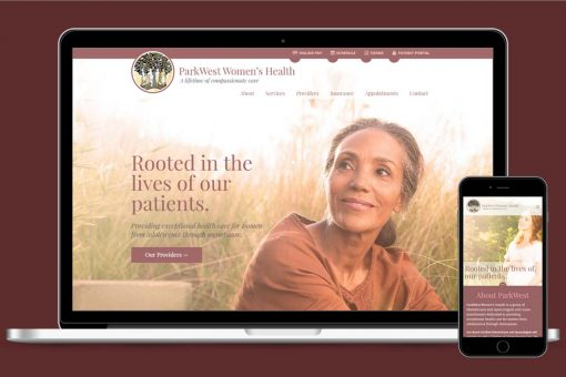 Parkwest Women's Health Laptop and Smartphone