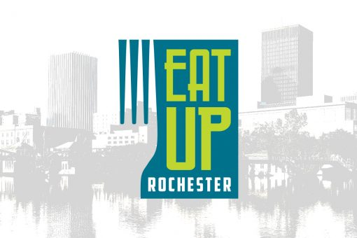 Eat Up Rochester Logo